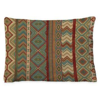 Laural Home Country Mood Fleece Dog Bed in Sage