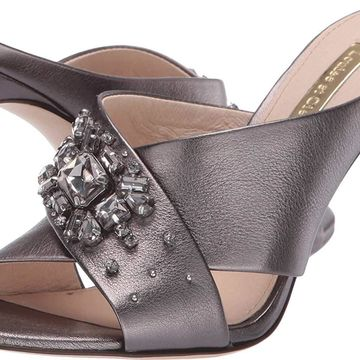 Louise Et Cie Womens LO-Hannety Leather Open Toe