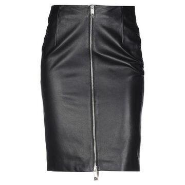 JOHN RICHMOND Knee length skirt