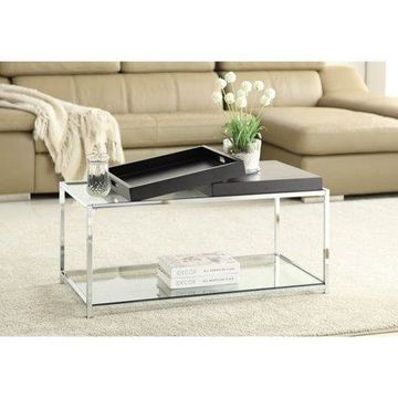 Convenience Concepts Palm Beach Coffee Table with Trays