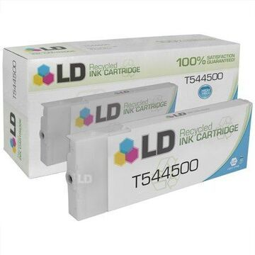 LD Remanufactured Replacement for T544500 High Yield Light Cyan Pigment Cartridge for use in Stylus Pro 4000, 4000 Professional Edition, 7600 Pigment, & 9600