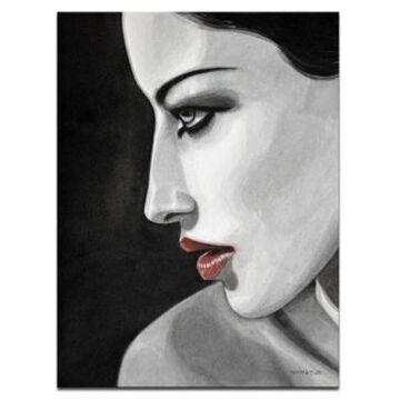 "Ready2HangArt 'Temptation Iii' Side Profile Canvas Wall Art, 30x20"""