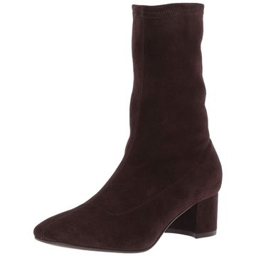 Aquatalia Women's Janine Stretch Suede Ankle Boot - 7.5