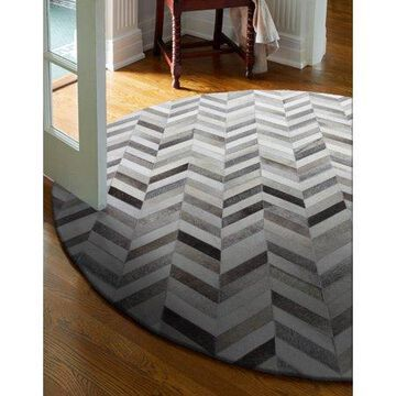 Bashian Caleb Contemporary Chevron Area Rug