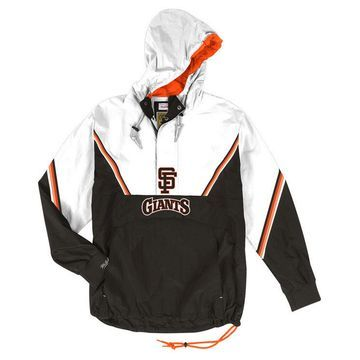 Men's San Francisco Giants Anorak Half-Zip Pullover