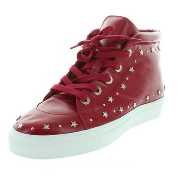 Laurence Dacade Womens Hugh Leather High Top Fashion Sneakers