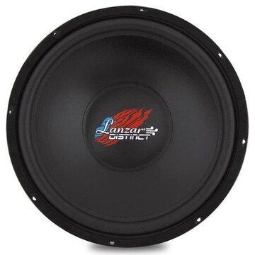 LANZAR DCTOA154 - Distinct Series Car Subwoofer - Single Voice Coil IB Free Air Car Sub (15 -inch, 400 Watt)