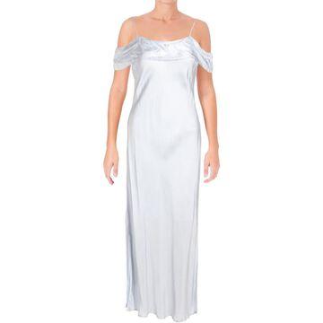 Bardot Womens Slip Dress Cold Shoulder Midi