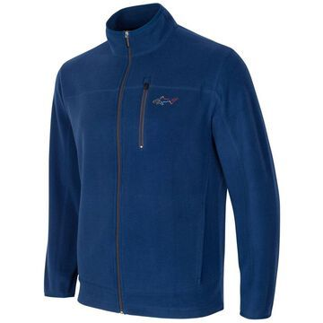 Greg Norman Mens 5 Iron Fleece Jacket