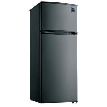 RCA 7.5-Cu. Ft. Top-Freezer Refrigerator - Graphite Stainless Steel