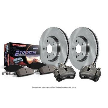 Power Stop KCOE1358 Autospecialty Brake Kit W/Calipers -Front