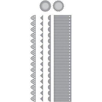 Spellbinders Shapeabilities Dies-Tiered Rosettes