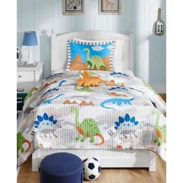 Mi Zone Kids Little Foot 4-Pc. Full/Queen Coverlet Set Bedding