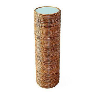 Jonathan Adler Riviera Pedestal Table - Color: Turquoise - 30921