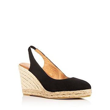 Andre Assous Women's Raisa Slingback Espadrille Wedge Sandals
