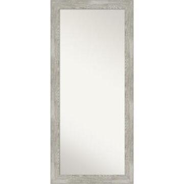 """Amanti Art Dove Framed Floor/Leaner Full Length Mirror, 29.88"""" x 65.88"""""""