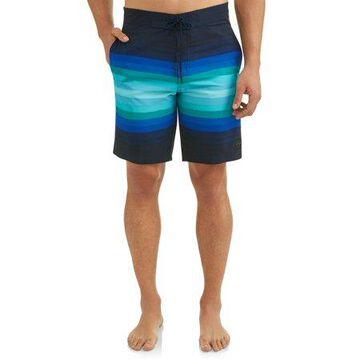 George Men's Stripe 9-Inch Boardshort