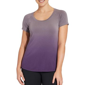 CALIA by Carrie Underwood Women's Everyday Dip Dye T-Shirt
