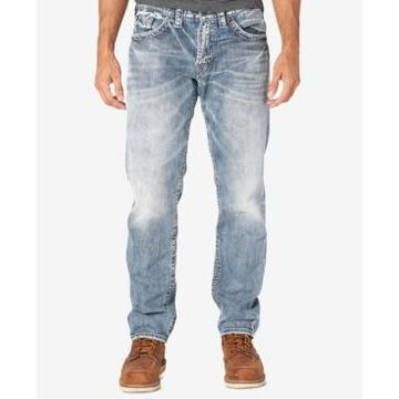 Silver Jeans Co. Men's Eddie Relaxed Fit Tapered Jeans