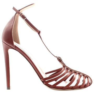 Altuzarra Brown Leather Sandals