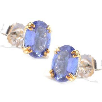 Michael Valitutti Tanzanite Stud Earrings