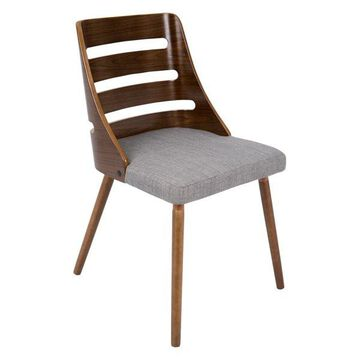 LumiSource Trevi Dining Chair, Gray