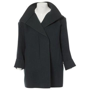Jil Sander Green Wool Jackets