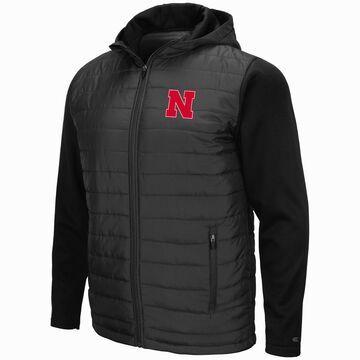 Mens NCAA Nebraska Cornhuskers Everest Full Zip Jacket