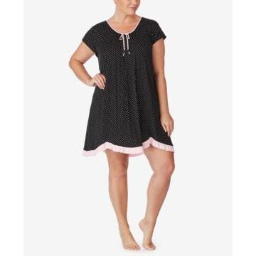 Ellen Tracy Printed Chemise Nightgown