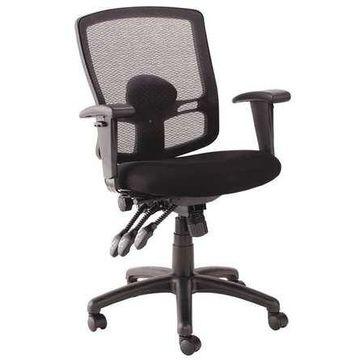 ALERA ALEET4017 Mid-Back Chair Series Etros, Mesh Black