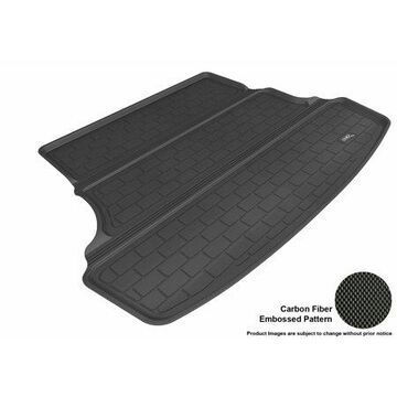 3D MAXpider 2012-2016 Hyundai Accent Sedan All Weather Cargo Liner in Black with Carbon Fiber Look