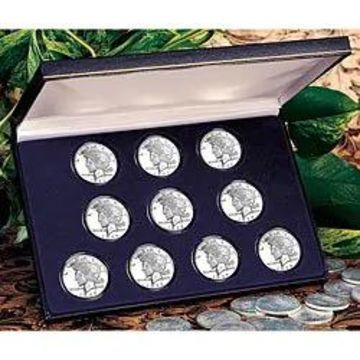 American Coin Treasures Peace Silver Dollar Collection