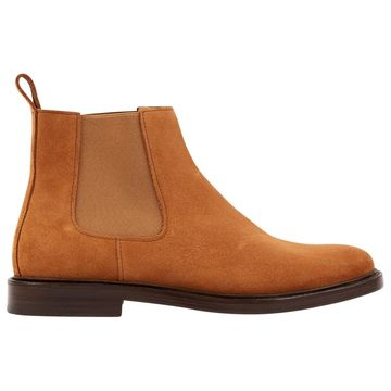 Apc Camel Suede Boots