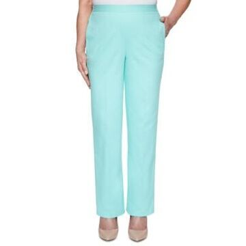 Alfred Dunner Spring Lake Pull-On Pants