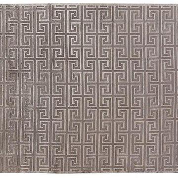 Allen Rug - Silver - Exquisite Rugs - 8'x10' - Gray