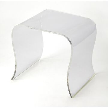 Butler Sashay Clear Acrylic End Table