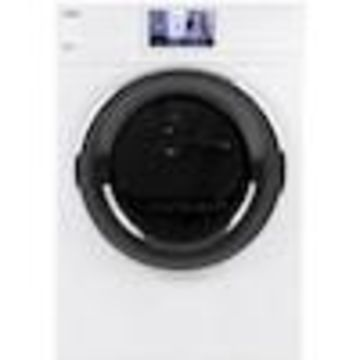 Haier 4.1-cu ft Stackable Electric Dryer (White) ENERGY STAR