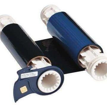 BRADY 13525 Ribbon Cartridge,Black/Blue,200 ft. L