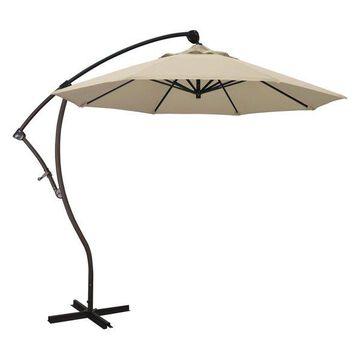 California Umbrella 9' Cantilever Umbrella in Beige