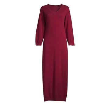Josie Natori Cashmere Lounger Dress