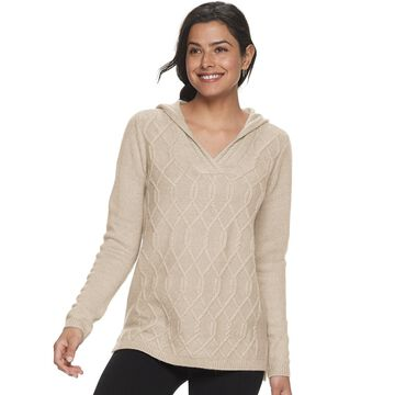 Petite SONOMA Goods for Life Hooded Knit Sweater