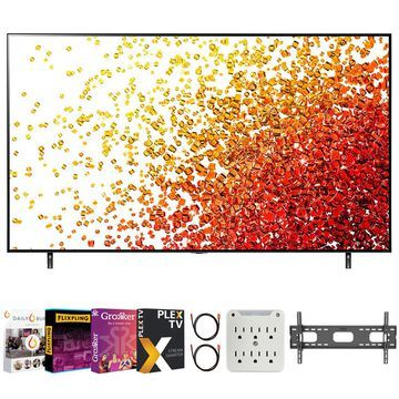 LG 86NANO90UPA 86 Inch 4K Nanocell TV (2021 Model) with Movies Streaming Pack