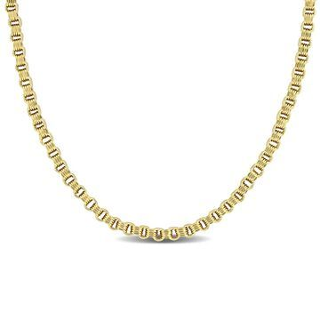 Miadora 14k Yellow Gold Link Necklace (2.6 MM)