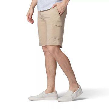 Men's Lee Extreme Comfort Cargo Shorts, Size: 30, Beige