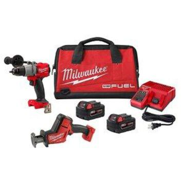 Milwaukee M18 FUEL 1/2in. Hammer Drill Kit with HACKZALL