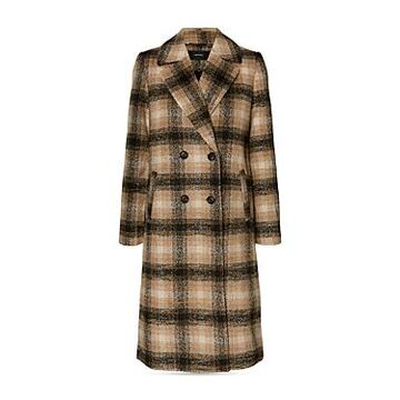 Vero Moda Hailey Check Print Coat