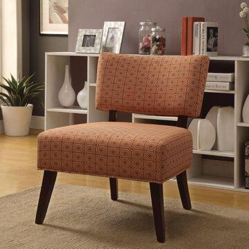 Benzara Geometric Accent Chair