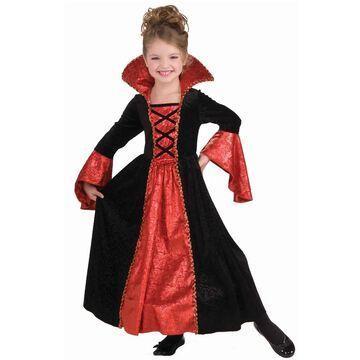 Forum Novelties Vampire Princess Child Costume (Medium) - Black/Red - M