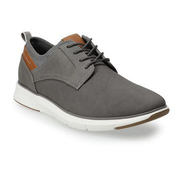 Sonoma Goods For Life Men's Ronan Oxford Shoes, Size: 10.5, Med Grey