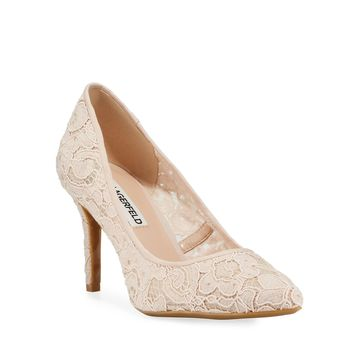Royale Lace Pointed Pumps